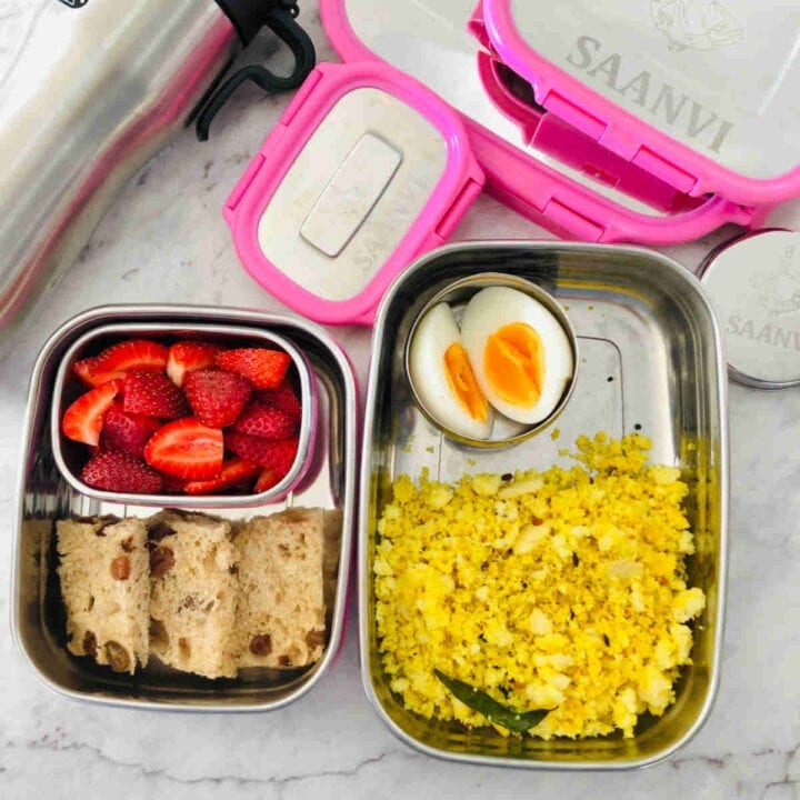 Meal Plan and Lunchbox Ideas