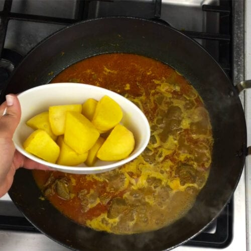Easy Goat Curry